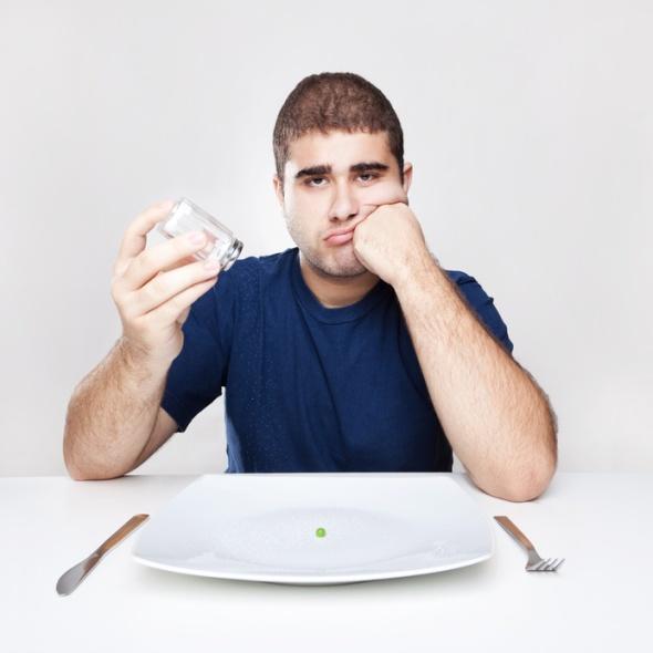 Nichts essen aber trotzdem kein Gewichtsverlust